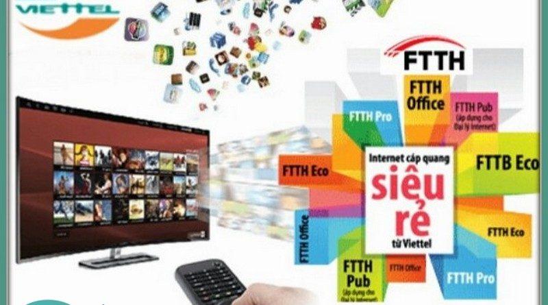 Sử dụng trọn gói internet cáp quang và truyền hình số Viettel để nhận ưu đãi hấp dẫn
