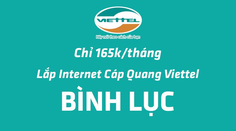 Lắp đặt mạng cáp quang viettel tại Bình Lục Hà Nam