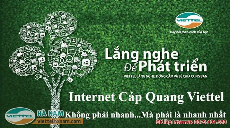 Lắp mạng cáp quang Viettel tại Thanh Liêm, Hà Nam để trải nghiệm internet siêu tốc độ