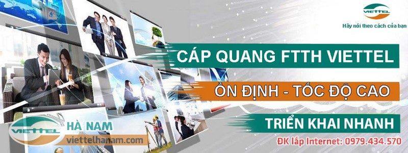 Lắp mạng cáp quang Viettel tại Kim Bảng, Hà nam miễn phí