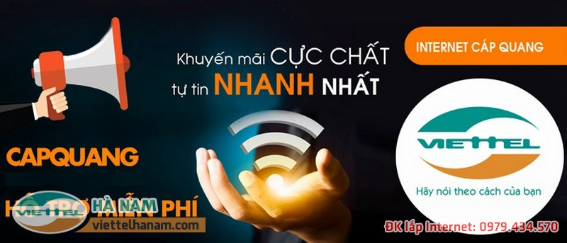 Mạng Wifi Viettel cực nhanh, cực mạnh giá cực rẻ