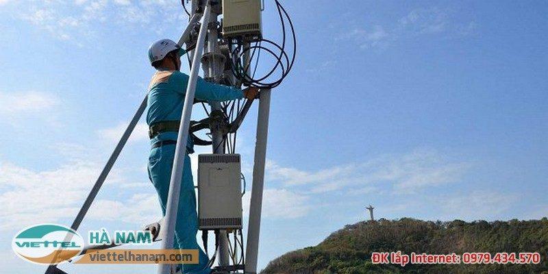 Lắp mafjg cáp quang Viettel Phủ Lý, Hà Nam được miễn phí 100% công lắp đặt