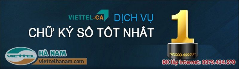 Kê khai thuế điện tử cực đơn giản với chữ kỹ số Viettel