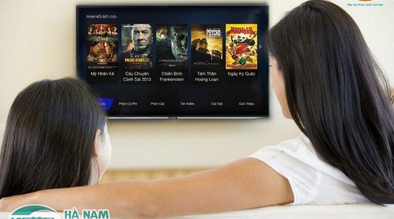Xem phim chiếu rạp ngay tại nhà với dịch vụ truyền hình siêu hấp dẫn của Viettel Hà Nam