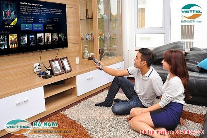 Truyền hình Viettel TV - truyền hình tương tác thế hệ mới